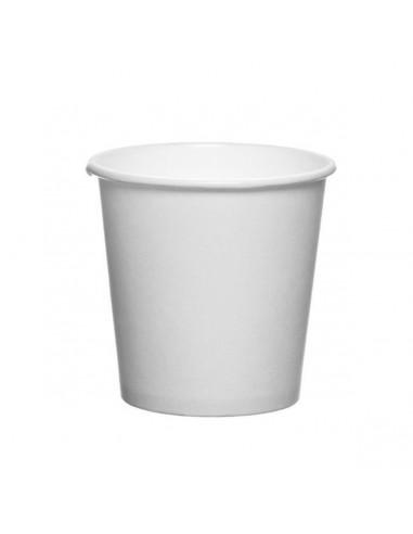 Huhtamaki 4oz White Coffee To Go Cups