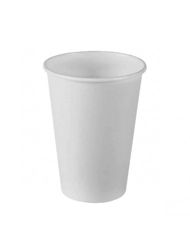 HUHTAMAKI 12oz WHITE COFFEE TO GO CUPS