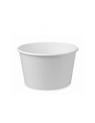 HUHTAMAKI 5OZ WHITE Ice Cream CUPS