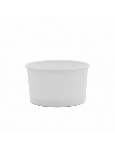 HUHTAMAKI 10 OZ WHITE ICE CREAM CUPS