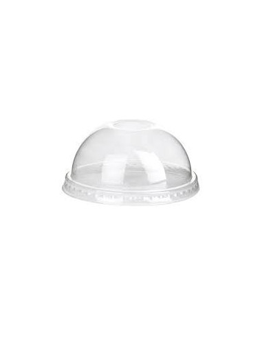 HUHTAMAKI CLEAR ICE CREAM DOME LIDS FOR 10 OZ CUPS