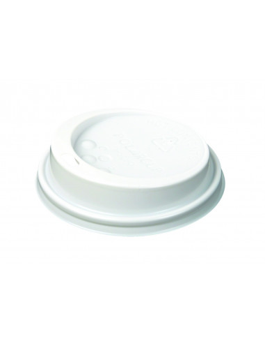 WHITE lid for 9oz cups