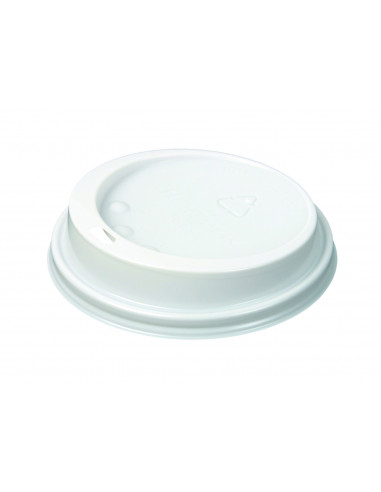 HUHTAMAKI WHITE LID FOR 12oz/16oz CUPS