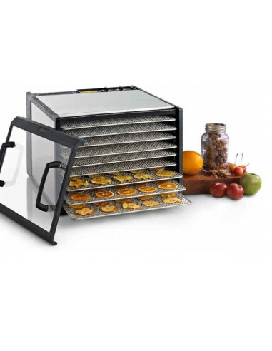 Excalibur D902SCDHD Stain Steel 9 Tray Food Dehydrator
