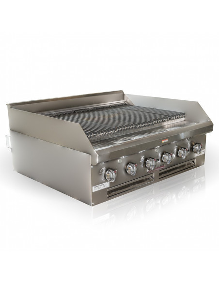 Southbend HDCL-36 Charbroiler gas countertop lava rock burners