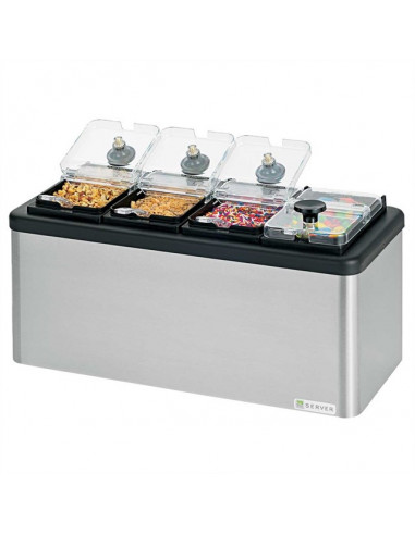Server 87480 Mini Station Combo with 4 Jars
