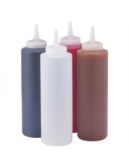 أوعية سيرفر البلاستيكية لتوزيع الصلصات -١٦ أونص