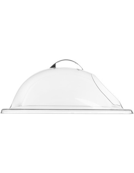 Carlisle PSD13EH07 End Cut Pastry / Deli Display Cover