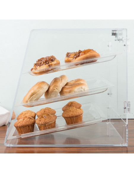 Carlisle SPD30007 3-Tier Clear Pastry Display Case