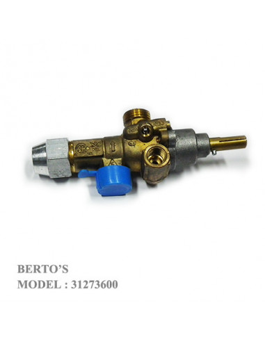 Bertos 31273600 GAS COCK VALVE