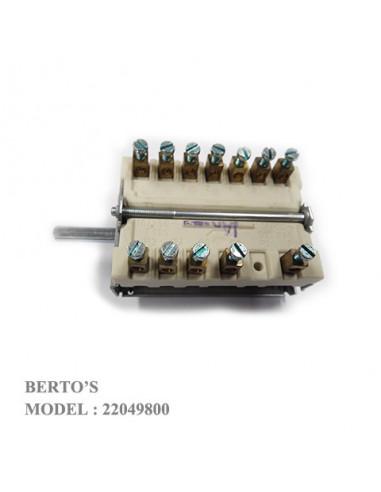 Bertos 22049800 SELECTOR SWITCH 4-POSITION