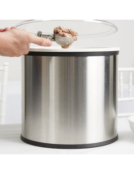 Carlisle 38655 Coldmaster Ice Cream Shroud 11.35 Liters Cold Crock