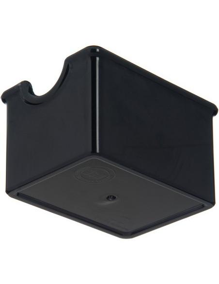 Carlisle 455003 Black Sugar Caddy with 20 Packet Capacity