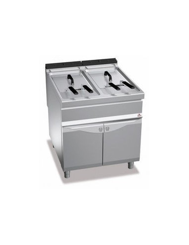 Berto's E9F22-8M Electric Fryer Double Well