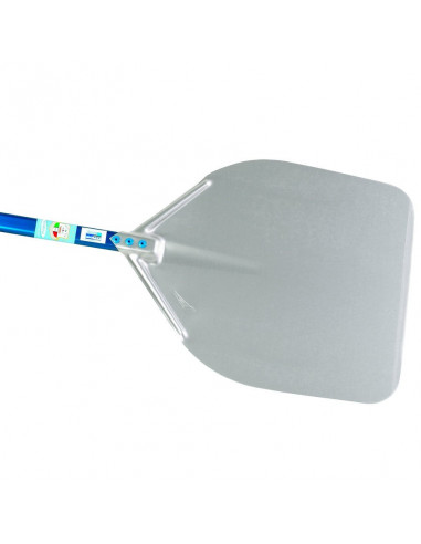 Gi-Metal A-32R Aluminum rectangular pizza peel 33x33cm