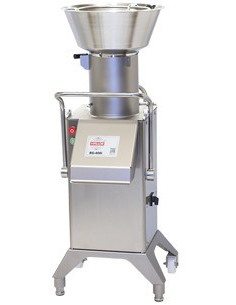 Hallde RG-400 Vegetable Preparation Machine + Feed Hopper