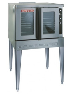 Blodgett DFG100 SGL Single Standard Depth Gas Convection Oven