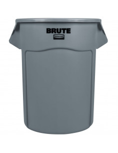 Rubbermaid FG265500GRAY BRUTE® Round Containers