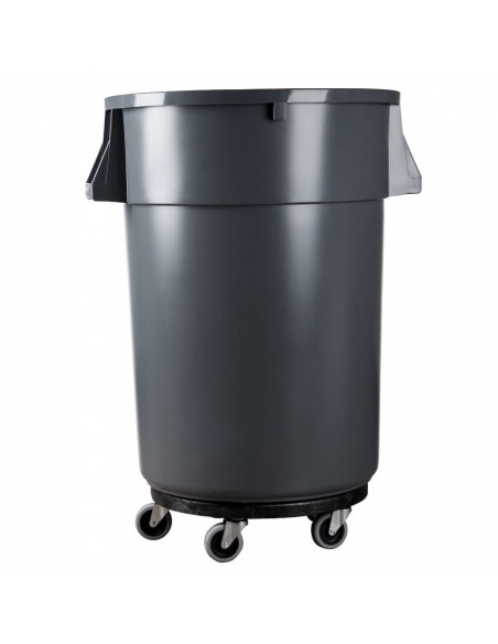 Rubbermaid Brute FG264000BLA Trash Can Dolly