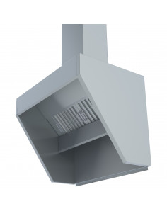 Miran SS Low Profile Exhaust hood