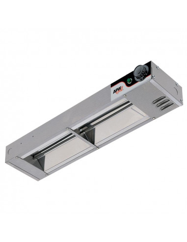 APW Wyott FD-60H(I) High Wattage Calrod Food Warmer with Infinite Controls