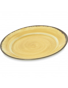 "Carlisle Melamine MINGLE 12.5"" Round Charger"