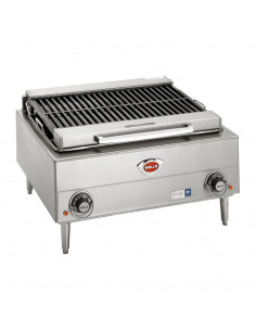 "Wells B-40 Stainless Steel Electric Charbroiler (24"")"