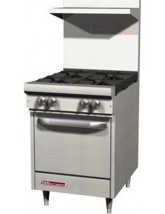 Southbend  S24E S-Series Gas Range 4 Open Burners With Standard Oven