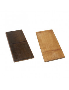 AM Carbonized Bamboo Serving Board