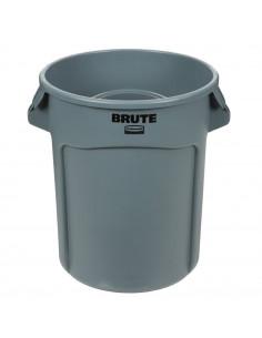 Rubbermaid FG262000GRAY 20 gallon Brute Trash Can