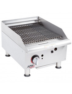 Bakers Pride BPXP-GCB-18i Counter top GAS Charbroiler 18""