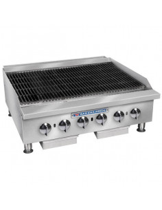 Bakers Pride BPXP-GCB-48i Countertop GAS Radiant Charbroiler 48""