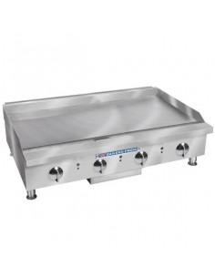 "Bakers Pride BPXP-GGM-48i Manual Control Countertop GAS Griddle 48"""