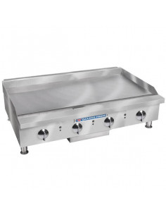 """Bakers Pride BPXP-GGT-48i Thermostatic Control Countertop GAS Griddle 48"""""""