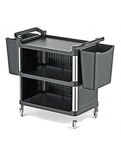 Kapp 46010027 Closed Serving Trolley